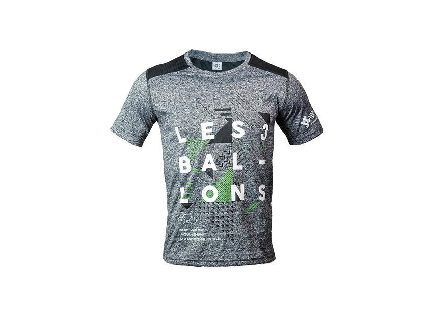 TEE SHIRT 3 BALLONS GREY